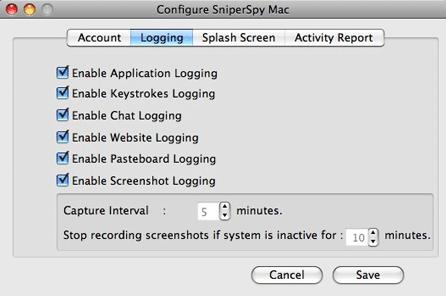 configure sniperspy mac